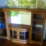 Wooden TV Cabinet Dandenong North Greater Dandenong Preview