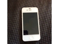 iPhone 4 in white.
