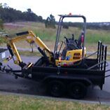 Excavator  small jobs Cameron Park Lake Macquarie Area Preview