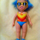 Vintage Tonka Hollywood doll with colour change hair Forestville Warringah Area Preview