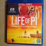 Bly-ray life of pi used
