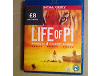 Bly-ray life of pi used