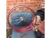 Racing bike wheels