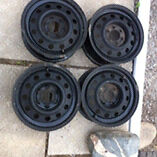 "15"" steel Dakota wheels.  Peterborough Peterborough Area image 1"