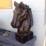 Horse Head Statue Carrara Gold Coast City Preview