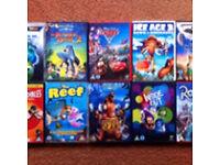 KIDS DVDs DISNEY ETC.