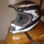 Brand New large helmet 80$
