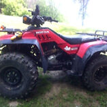 1986 Honda TRX350 4x4 fourtrax
