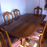 Dining/kitchen table solid wood