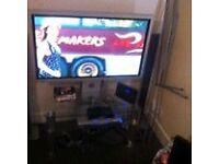 43 inch panasonic tv with stand