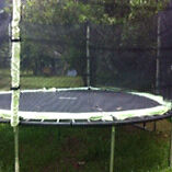 Large trampoline with net Tallebudgera Valley Gold Coast South Preview