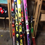 Racing skis - WILL NOT LAST $120 for lot