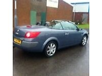 2007 RENAULT MEGANE 1.5 DCI CABRIOLET SPARES OR REPAIR HIGH SPEC LOW MILES **JUST REDUCED BY 500