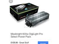 600w digital ballast & fan controller hydroponics