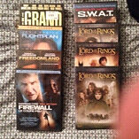8 movies for 10 bucks including LOTR trilogy!