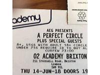 Perfect circle tickets x2