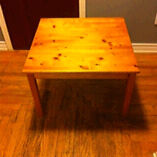 Wooden side table for sale- $15