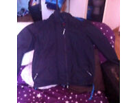 Mens superdry coat XL