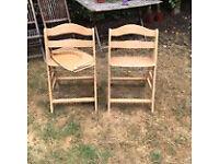 Hauck Alpha wooden high chair
