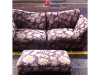 Large DFS Sofa / only £45 / free Glasgow delivery