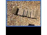 BRADSTONE walling / bricks / blocks - UNUSED 120+ various sizes