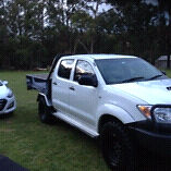 Hilux 4x4 Toyota or swap for Harley soft tail Avonsleigh Cardinia Area Preview