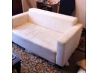 FREE IKEA SMALL 2 SEAT SOFA - perfect upholstery project