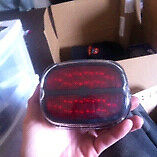 Harley led tail light