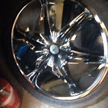 """22"""" halo rims and tyres new. Fit any 6 stud 4 x 4. Bought for SR5Hilux Aberglasslyn Maitland Area Preview"""