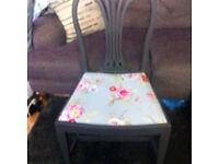 Shabby chic bedroom chair / hall desk or dressing table