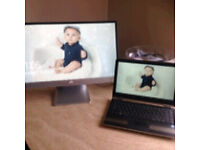 "Hp 23"" large screen monitor"
