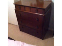 Brilliant condition chest of drawers