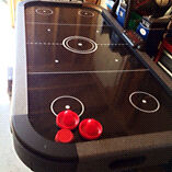 Large Air hockey table 6 by 3 feet