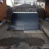 Quarter Pipe for Skateboard and Scooters