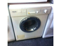 MIELE WASHING MACHINE COMES A FULLY WORKING STORE WARRANTY