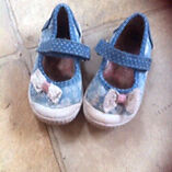 Girls infant shoes size 23 George