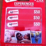 Red balloon vouchers unwanted gift Carey Bay Lake Macquarie Area Preview