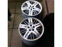 "Rover 75 MG-ZT 16"" alloys,5x100 VW Audi seat subaru Toyota"