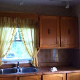 Kitchen cabinets and oak doors