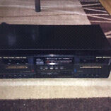 JVC TD-W110 Stereo Double Cassette Deck Dual Tape Player Recorde