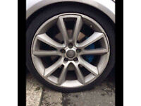 vauxhall astra vxr alloys with tyres