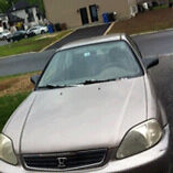 Honda civic 2000 750$