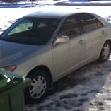 2003 TOYOTA CAMRY XLE (AS IS) $1600 OBO