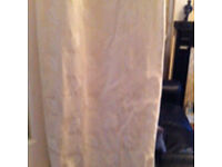 Beautiful heavy lined curtains cream
