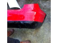 Skoda Fabia estate montecarlo rear bumper + kit 2011-2012-2013-2014-2015 £25