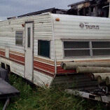Free camper no ownership rough shape