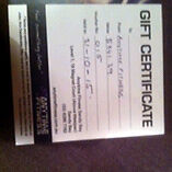 Gym gift voucher  Moonah Glenorchy Area Preview