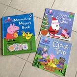 Peppa Pig books, as new Wakerley Brisbane South East Preview