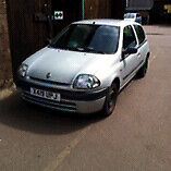 2001 Renault Clio 1.2 10 months MOT