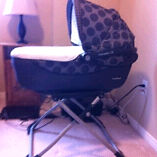 2013 peg perego navetta XL bassinet and stand